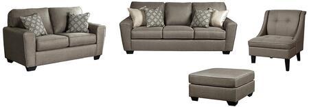 Milo Italia MI8018QSSLAC08CASH Baylee Living Room Sets