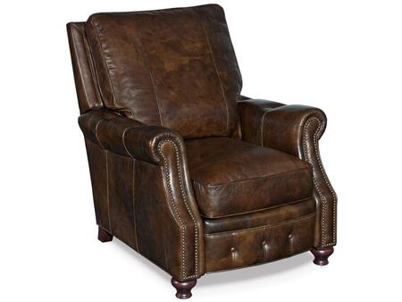 Old Saddle Cocoa Recliner Chair