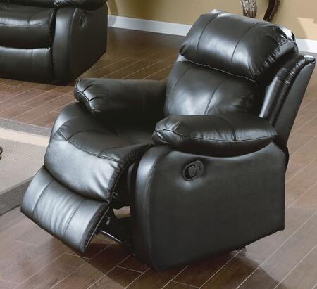 Yuan Tai WE9918CBK Weston Series Leather Wood Frame  Recliners