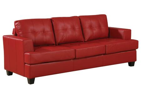 Acme Furniture 15100 Platinum Series Stationary Bonded Leather Sofa