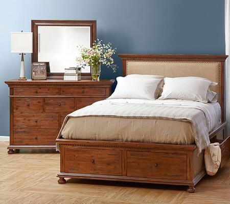 Jofran 680QPBDM Geneva Hills Queen Bedroom Sets