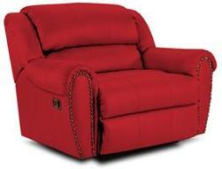 Lane Furniture 21414189540 Summerlin Series Transitional Fabric Wood Frame  Recliners