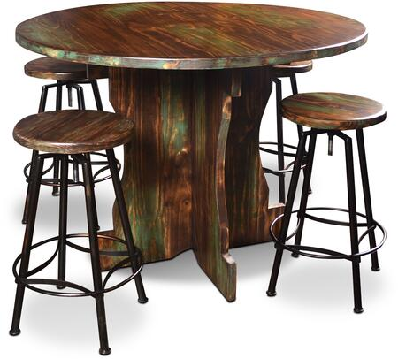 Sunset Trading HH80140485PC Cabo Bar Table Sets