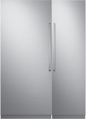 Dacor 772354 Modernist Side-By-Side Refrigerators