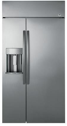 GE Profile PSB42YSKSS 42 Inch Built In Side by Side Refrigerator ...