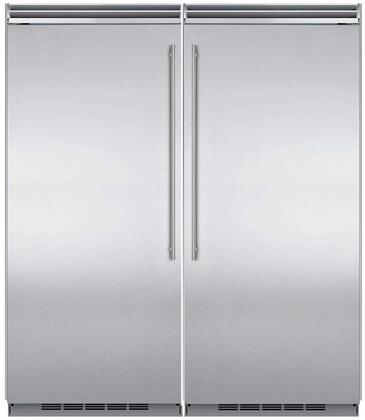 Marvel 745004 Side-By-Side Refrigerators