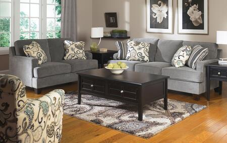 Milo Italia MI4987KIT3PC2STEE Adrienne Living Room Sets