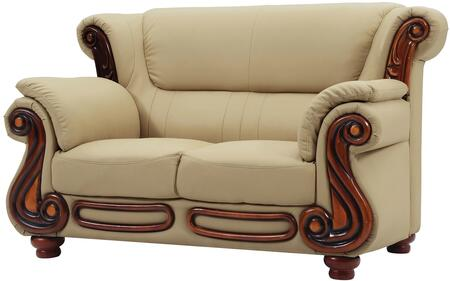 Glory Furniture G821L Faux Leather Stationary Loveseat