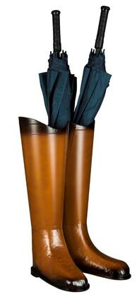 Cooper Classics 630UStand Umbrella Stand with Dark Brown Accents