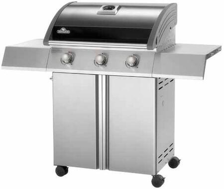 "Napoleon SE410PK 50"" Freestanding Grill, in Stainless Steel"