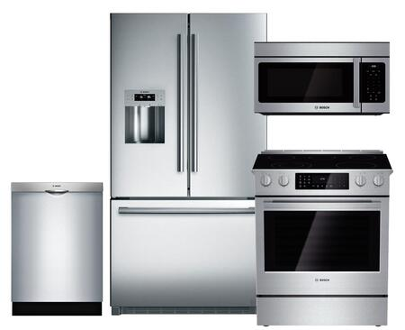 Bosch BOS4PCFSFD30EFISSKIT1 800 Kitchen Appliance Packages