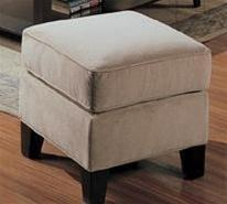 Coaster 500234 Park Place Series Traditional Fabric Ottoman