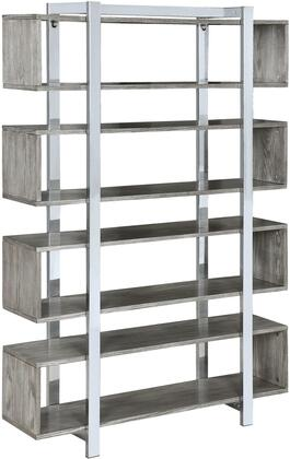 Donny Osmond Home 950901 Johnathan Series Wood and Metal 4-5 Shelves Bookcase