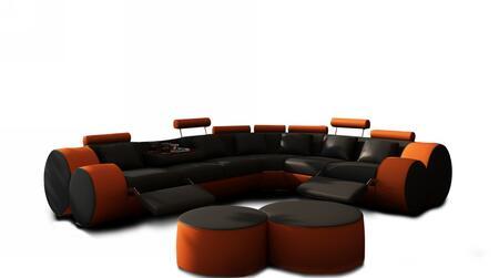 3087cut black orange