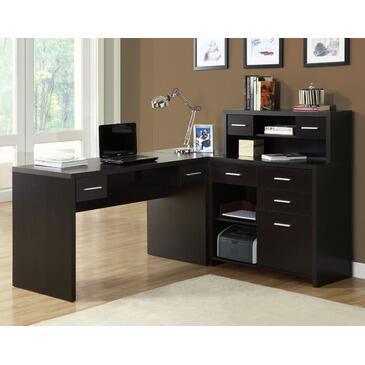 Monarch I7018 Transitional L-Shape Office Desk