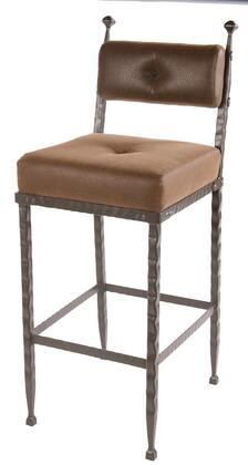 Stone County Ironworks 904197FAUXOBB Forest Hill Series  Bar Stool