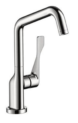 Axor 39851 Axor Citterio Bar Faucet with Metal Lever Handle: