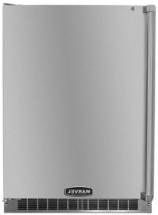 Marvel MPRO6ARMBSLL Professional Series Compact Refrigerator with 6.1 cu. ft. Capacity in Stainless Steel