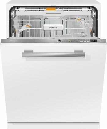 "Miele G6665x 24"" Crystal Series Energy Star Certified Built-In Dishwasher with 45 dBA, 6 Cycles, 3D Cutlery Tray, 16 Place Settings, and AutoOpen Drying, in"