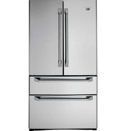 GE Monogram ZFGP21HXSS Monogram Series  French Door Refrigerator with 20.7 cu. ft. Total Capacity
