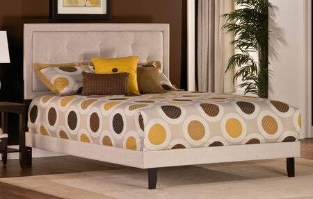 Hillsdale Furniture 1299BQRB Becker Series  Queen Size Panel Bed