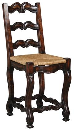 Ambella 17502510001 Armless Not Upholstered Wood Frame Accent Chair