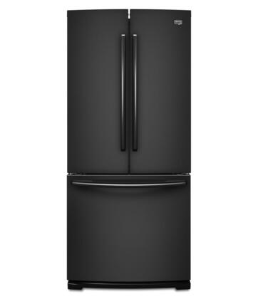 "Maytag MFB2055YEB 36""  French Door Refrigerator with 19.6 cu. ft. Capacity in Black"