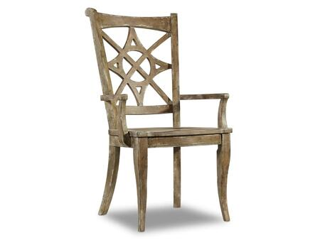 Dining Room Melange Rafferty II Arm Chair Image 1