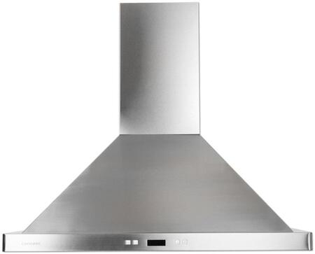 Cavaliere 218 SV218B2 Wall Mount Range Hood With 900 CFM, Dishwasher Safe, Six Layer Grease Filters, 30 Hour Cleaning Reminder, 6 Speed Levels with Timer Function In Stainless Steel