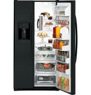GE PSCF5RGXBB Freestanding Side by Side Refrigerator |Appliances Connection