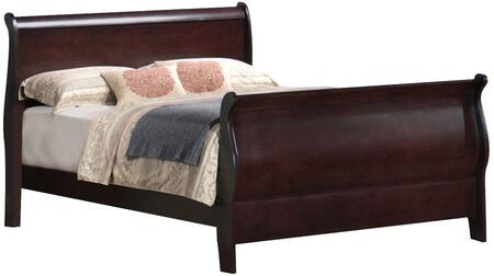 Coaster 203981NQ Louis Philippe Series  Queen Size Sleigh Bed