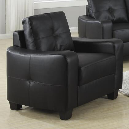 Coaster 502 Jasmine Leather Chair by Coaster