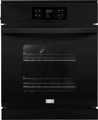 "Frigidaire FFEW2425Q 24"" Single Electric Wall Oven with 3.3 cu. ft. Capacity, Vari-Broil  Temperature Control, Dual Radiant  Baking and Roasting, Ready-Select  Controls and Self-Cleaning option in"