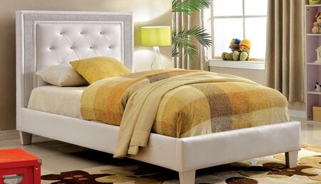 Furniture of America CM7217WHFBED Lianne Series  Full Size Bed