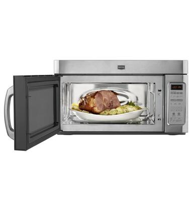 Maytag Mmv5208ww 2 0 Cu Ft Over The Range Microwave Oven