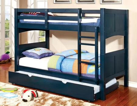 Furniture of America CMBK608TBTSETBL Prismo II Twin Bedroom