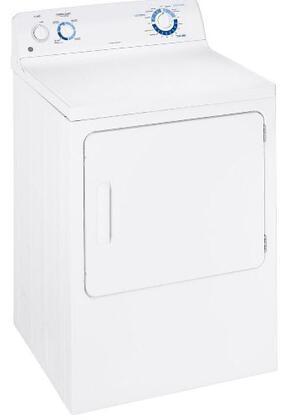 GE GTDN500GMWS  Gas Dryer, in White