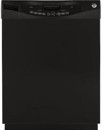 GE GLD5604VBB 5600 Series Built-In Full Console Dishwasher with in Black