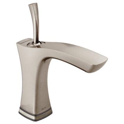 Tesla  552TLF-SS Delta Tesla: Single Handle Lavatory Faucet with Touch2O.xt Technology in Stainless