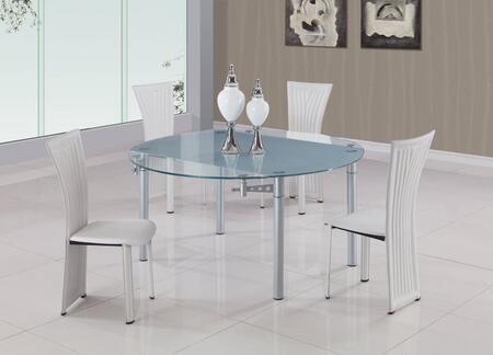 Global Furniture USA 135WH5pc Global Furniture USA Dining Ro