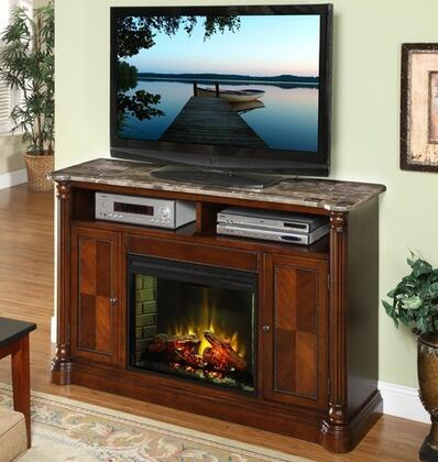 Legends Furniture ZJM1900 Monte Cristo Series  Fireplace