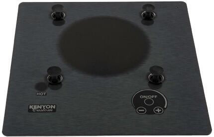 "Kenyon B40587PUPS 12"" Stainless Steel Series 1 Element Electric Cooktop, in Silver"