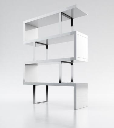 Modloft MD105LAQ  4 Shelves Bookcase