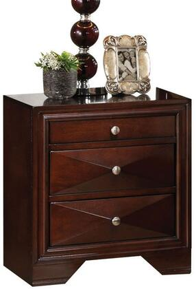Acme Furniture 21923 Windsor Series Rectangular Wood Night Stand