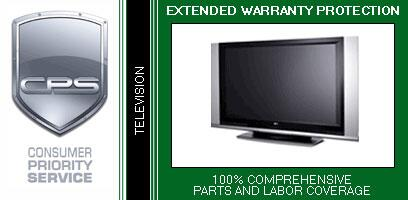 Consumer Protection Service TVH2x 2 Year Warranty on TV/Monitor for In-Home Products