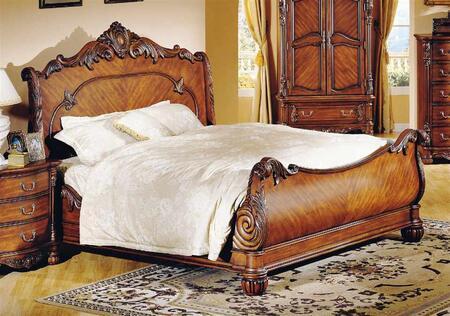 Yuan Tai 5260Q Savannah Series  Queen Size Sleigh Bed