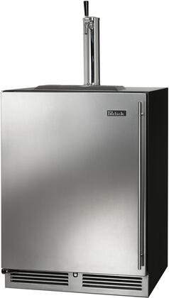 """Perlick HC24T 24"""" C-Series Indoor Beer Dispenser with RAPIDcool Forced-air System, Stainless Steel Faucet, and Stainless Steel Interior, in"""