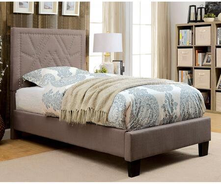 Furniture of America CM7433BRTBED Mirianne Series  Twin Size Platform Bed