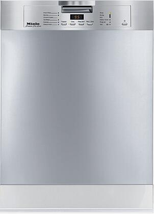 Miele G2143SCSS  Built-In Full Console Dishwasher with in Stainless Steel
