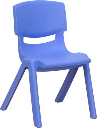 "Flash Furniture YU-YCX-001-XX-GG Plastic Stackable School Chair with 12"" Seat Height, 176 lb. Static Load Capacity, Lightweight Design, and Easy To Clean"